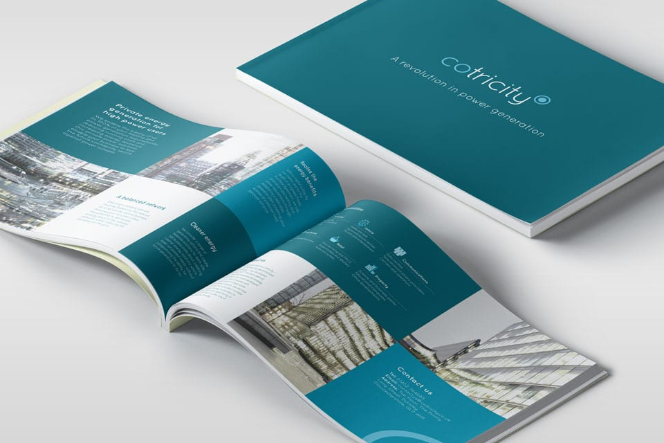Cotricity brochure design