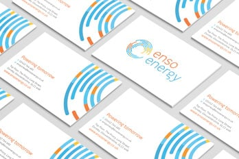 Enso business card design