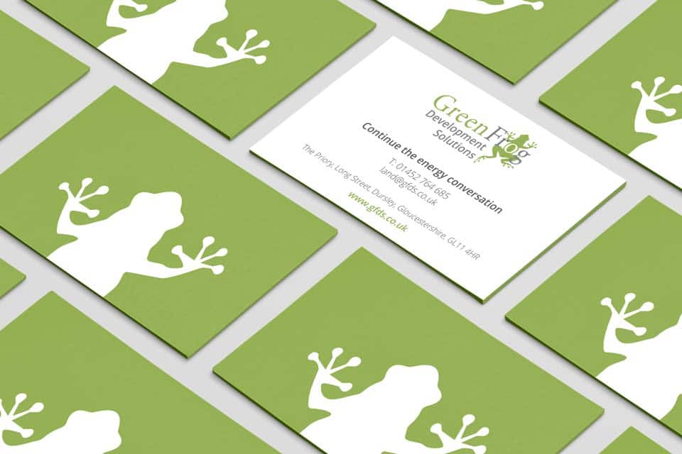 GFDS business card design