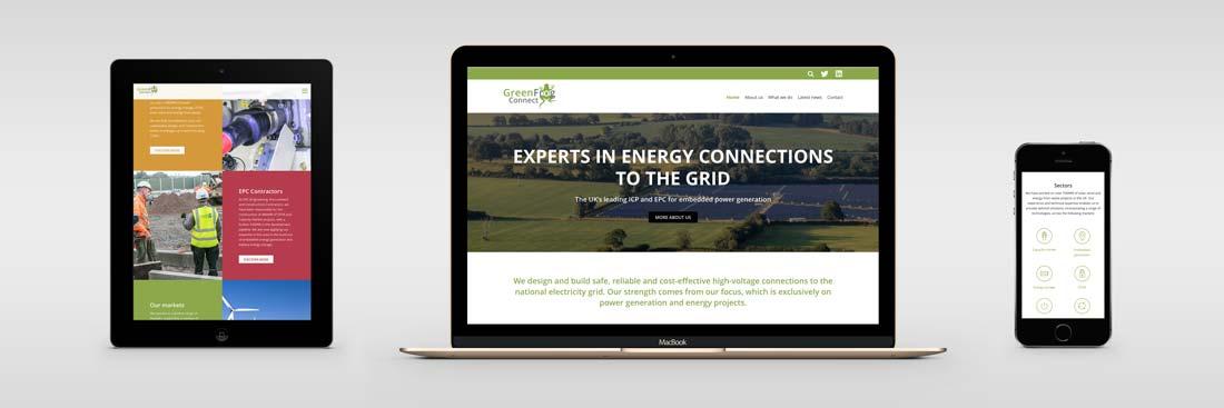 Green Frog Connect website design and website development